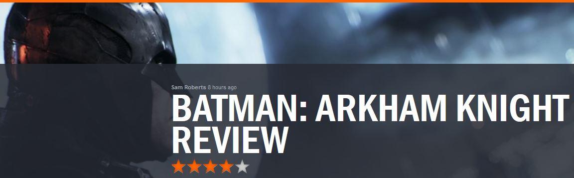 Batman Arkham Knight GR REVIEW