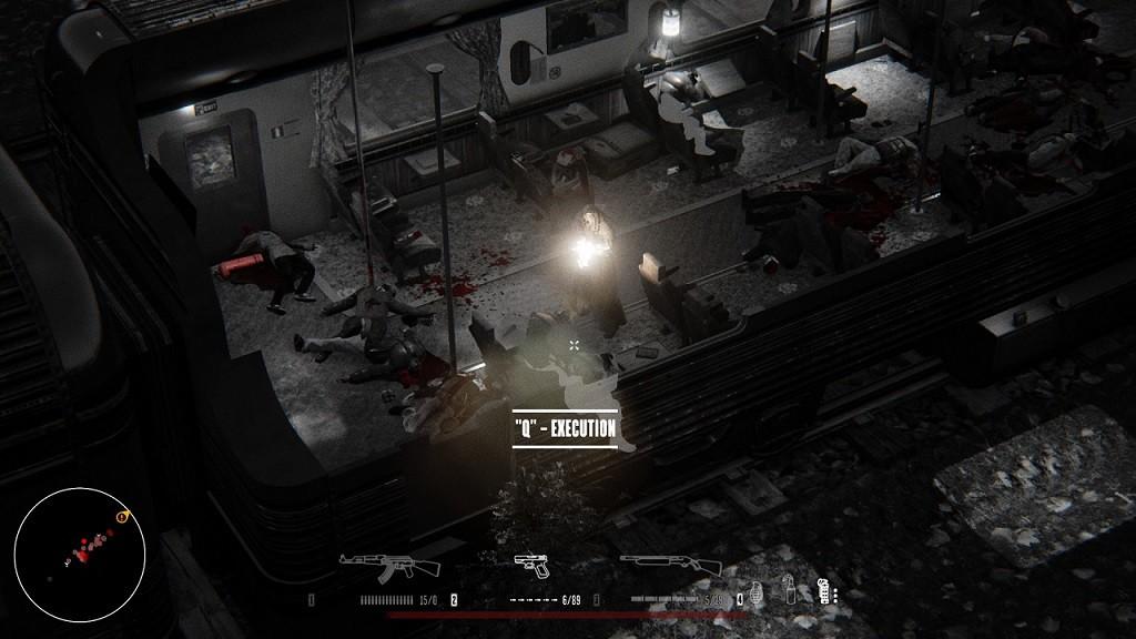 הוצאה להורג של נוסע תמים ברכבת