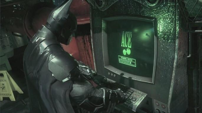 באטמן ארקהאם נייט למחשב- בעיות