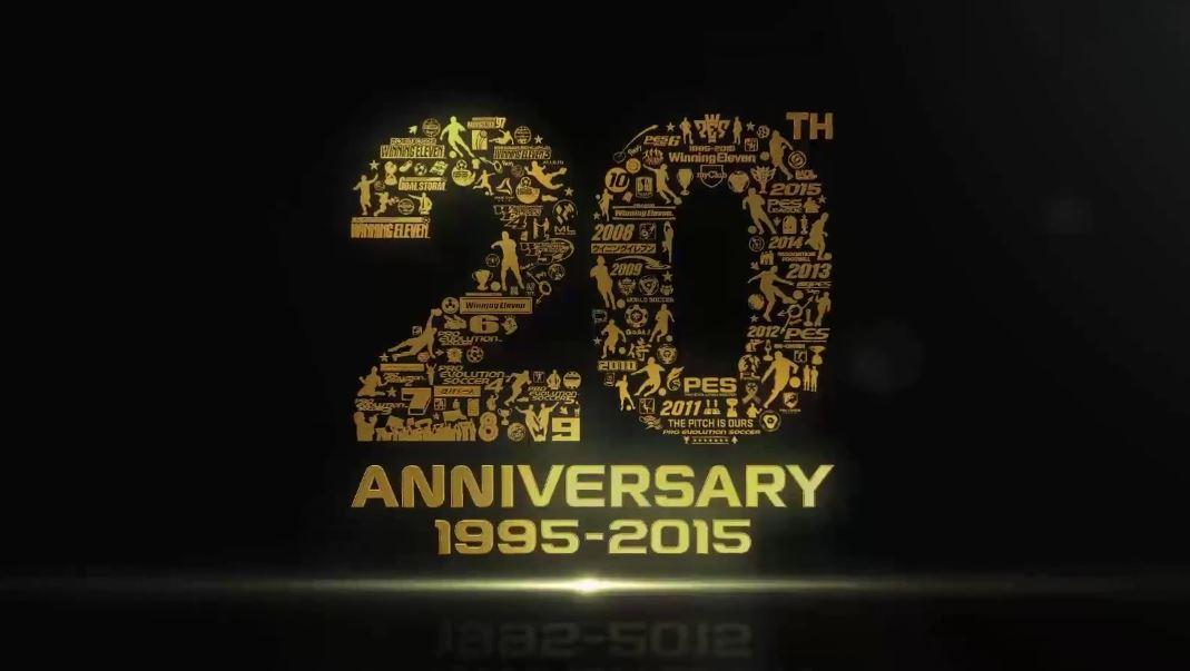 pes 20 anniversary