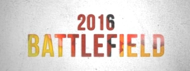 Battlefield confirmed in 2016