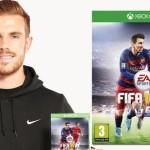 ג'ורדן הנדרסון מליברפול נבחר לככב לצד מסי בעטיפת FIFA 16