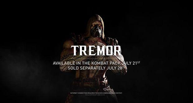Mortal Kombat X Tremor Trailer
