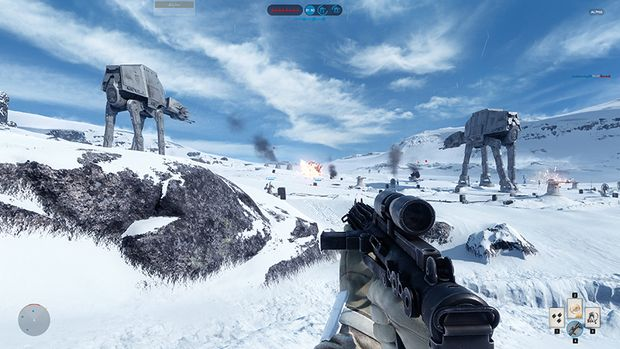 Star Wars Battlefront Closed Alpha Hoth 4K