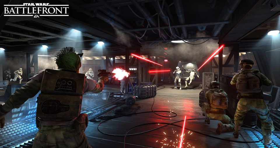 Star Wars  Battlefront  Team Deathmatch Blast mode