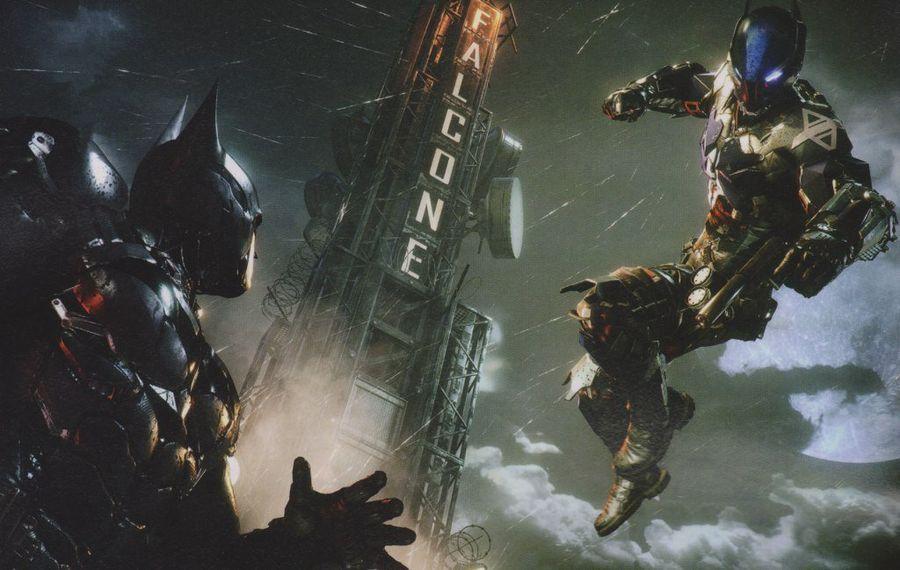 batman arkham-knight_ps4 gameplay