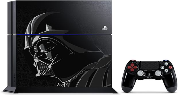 Darth Vader PS4 limited edition announced