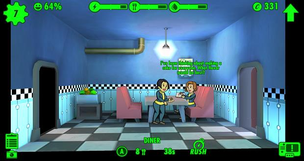 fallout shelter dinning room