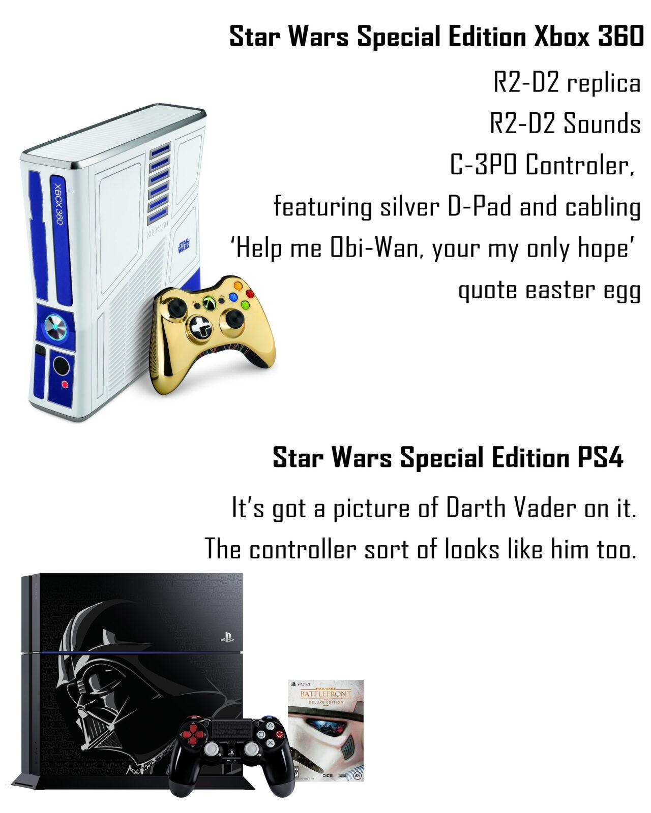 XBOX 360 VS PS4