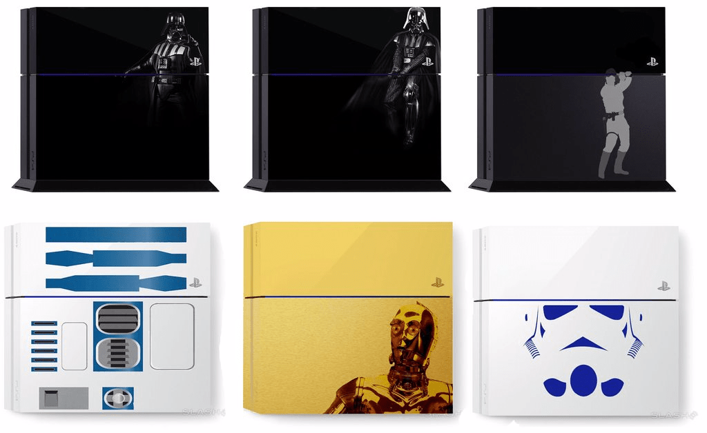 ps4 star wars designs