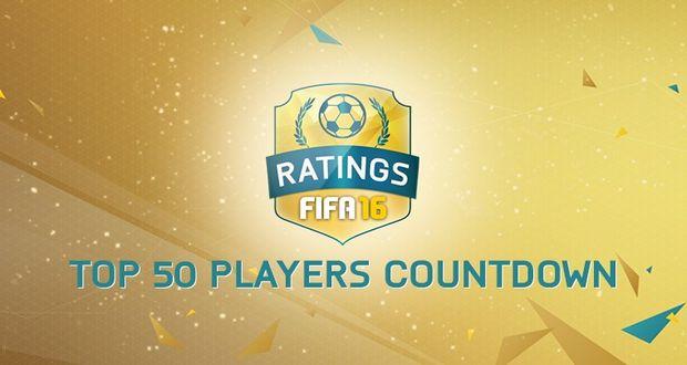 FIFA 16 Player Ratings Top 50
