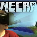 מיינקראפט בדרך למציאות מדומה ב-2016