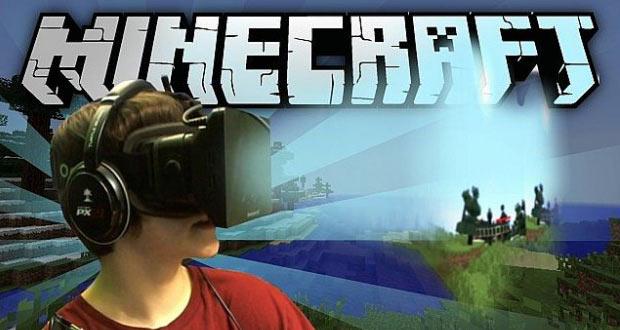 Minecraft-oculus-מציאות-מדומה