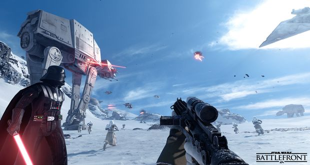 The Star Wars Battlefront Beta is Coming Early October