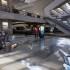 VR gaming bullet train