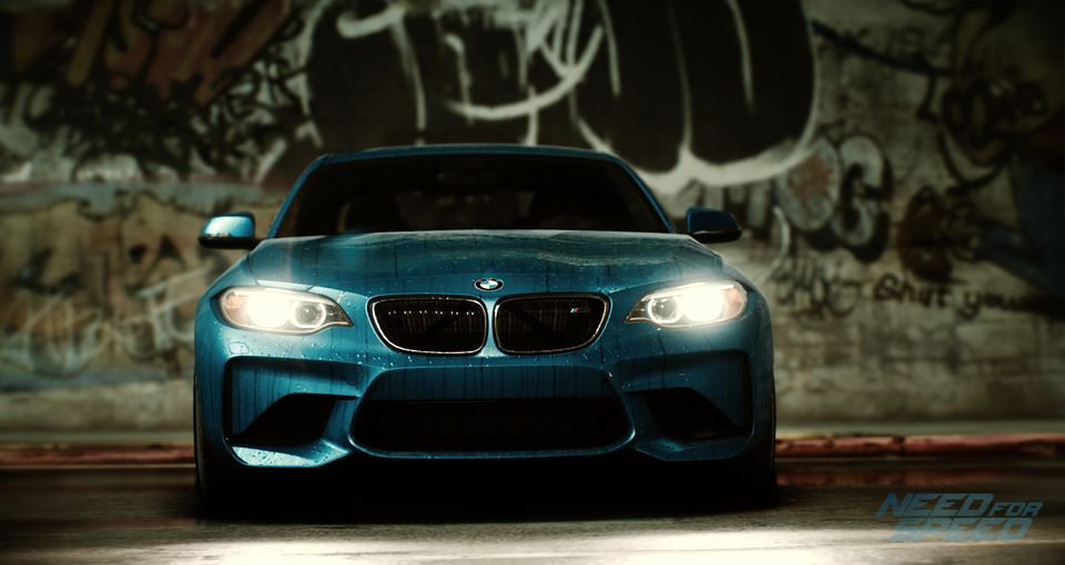 BMW M2 Coupe Need for Speed game