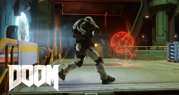 DOOM Multiplayer Closed Alpha - Gameplay Video