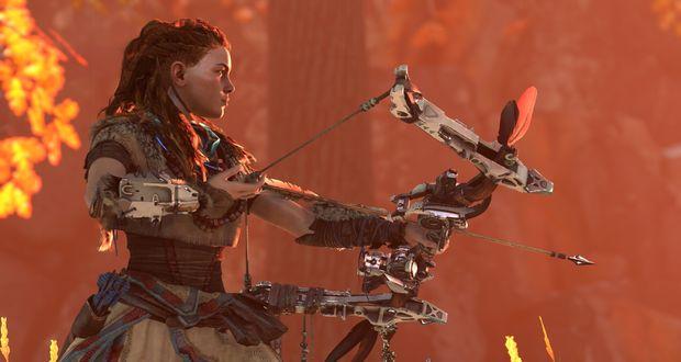 אלוי (Aloy), הדמות הראשית, בת לשבט אינדיאני