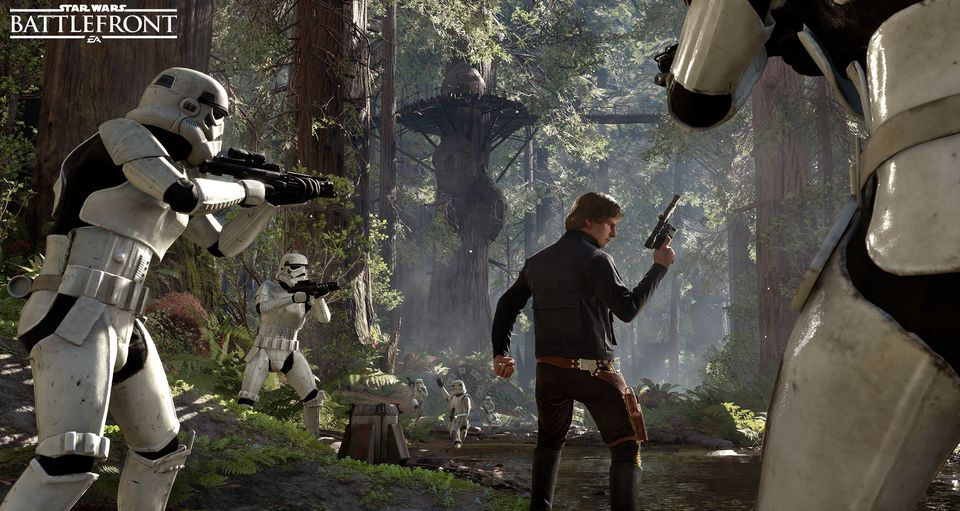 The Heroes of Star Wars Battlefront