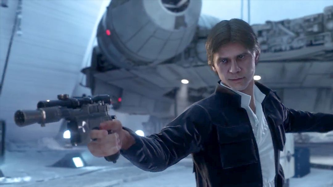 The New Star Wars Battlefront launch Trailer