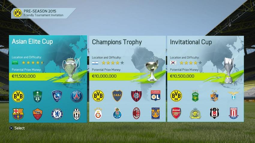 FIFA 16 Career