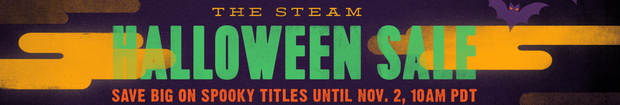Halloween sale steam