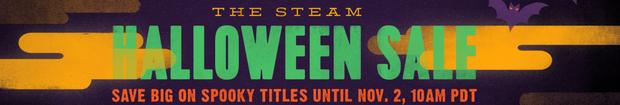 Halloween sale steam