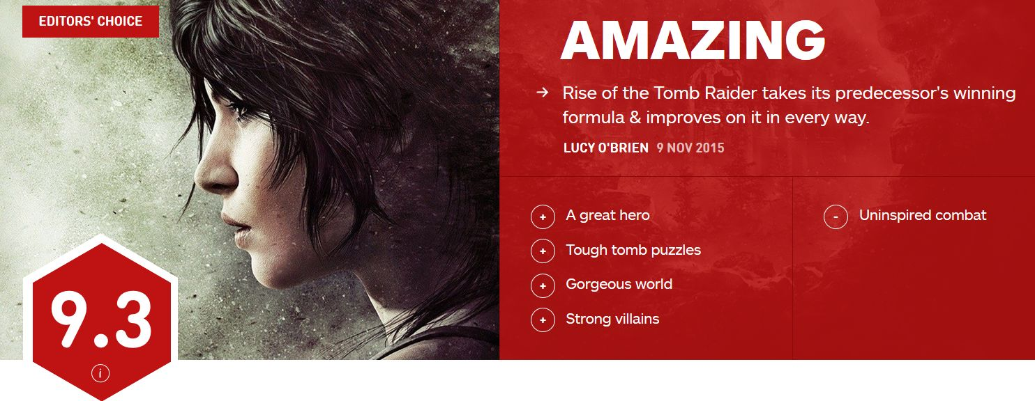 Rise of the Tomb Raider review IGN