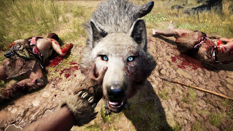 FAR CRY PRIMAL-pet-wolf-beastmaster-reveal