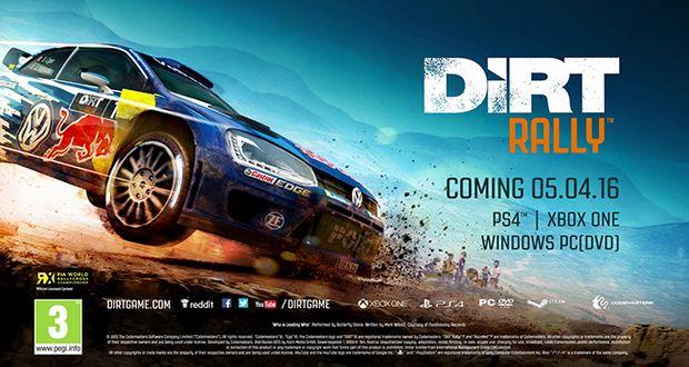 dirt-rally XONE PS4