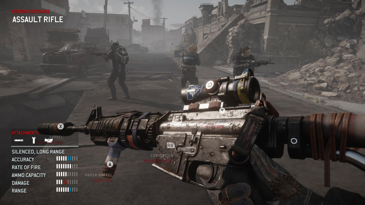 Homefront The Revolution WEAPON
