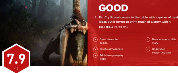 Far Cry Primal reviews