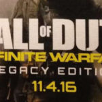 פוסטר של Call of Duty: Infinite Warfare חושף חידוש למשחק CoD 4: MW