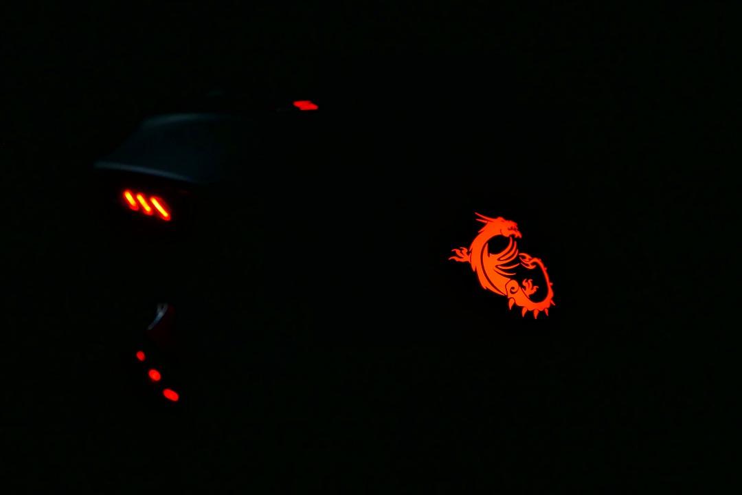כך נראה העכבר בחדר חשוך
