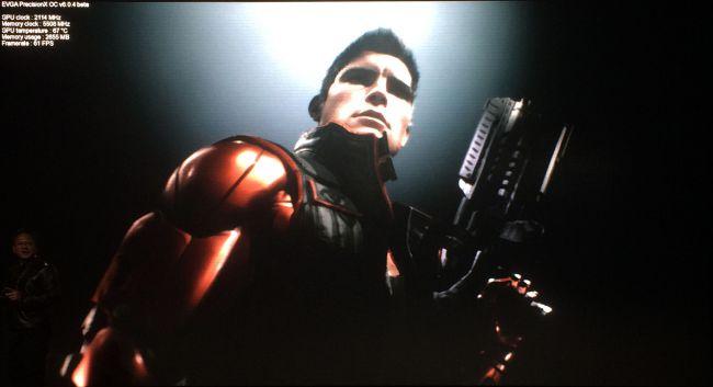 רינדור בזמן אמת של דמות Paragon באמצעות Unreal Engine 4 הרץ על GTX 1080 מומהר.
