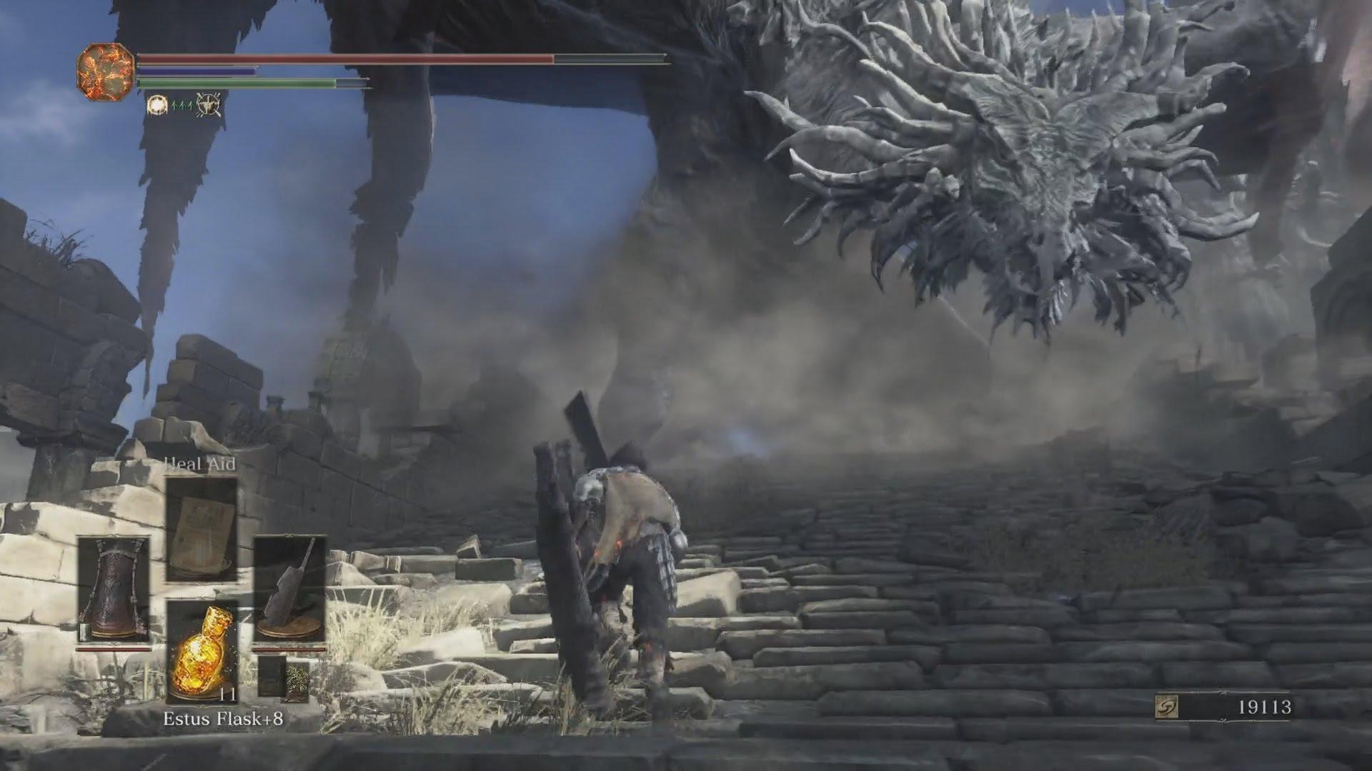 dark souls 3 BOSS FIGHT