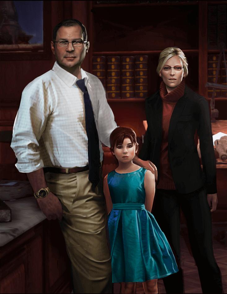 משפחת קרופט, לארה הקטנה.