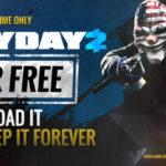 Payday 2 חינמי בסטים לחמשת המיליונים הראשונים שיחטפו אותו
