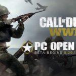 הבטא למחשב ל-Call of Duty: WW2 תיפתח בעוד שבועיים